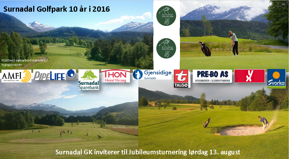 Forside jubileumsturnering 2016 invitasjon