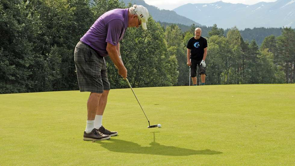 Golfbilde Kjell og ArneO